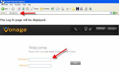 The Vonage V-Portal or Vonage Box (VDV22-VD) has the same user interface at 192.168.1.15.
