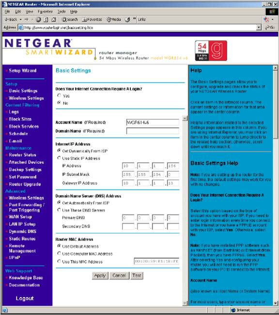 how to change your netgear password